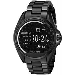 Michael Kors Bradshaw Black-Tone Smart Watch